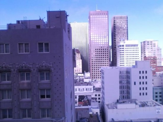 Grand Hyatt San Francisco: View from the room on 14th floor