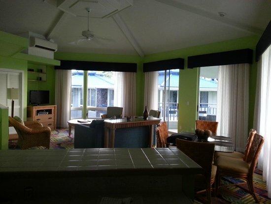 Holua Resort at The Mauna Loa Village : The great room