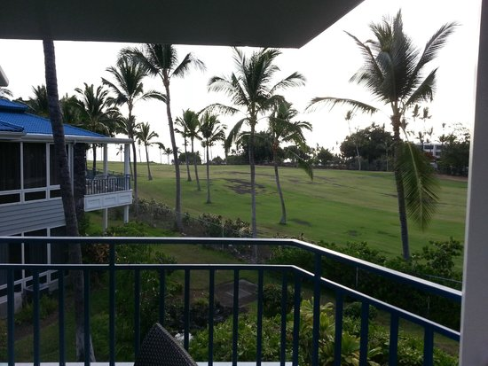 Holua Resort at The Mauna Loa Village : lanai