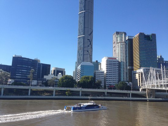 Meriton Serviced Apartments Brisbane on Herschel Street: View from South Bank