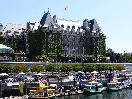The Fairmont Empress: Such a beautiful hotel