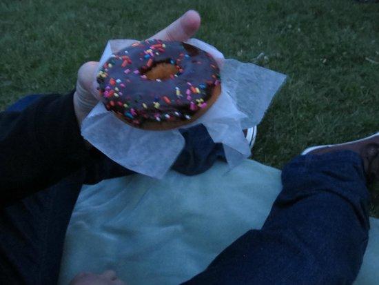 Dunkin' Donuts: Donuts de chocolate