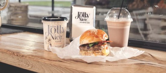Jolly Nice : Vertically integrated burgers and Ice cream