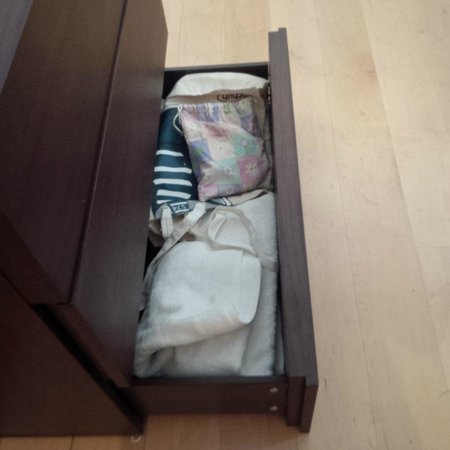Point West Apartments by Crown Lawn: Someone else's cloth in the drawer