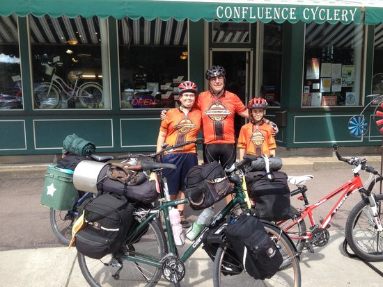 Great Allegheny Passage: Great help from the confluence Cyclery