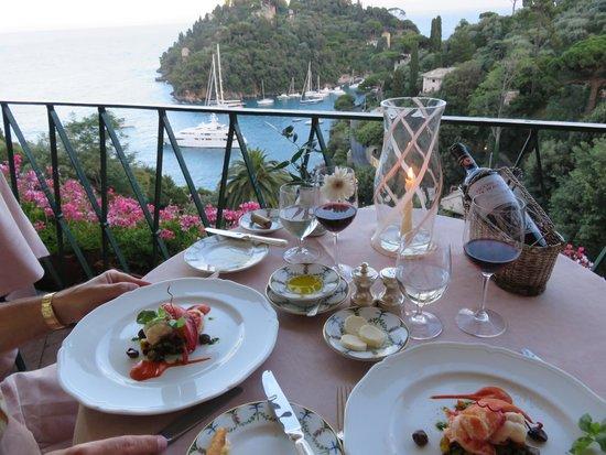 Belmond Hotel Splendido: La Terrazza restaurant at Hotel Splendido