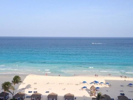 The Ritz-Carlton, Cancun : View from our balcony