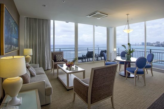The New Otani Kaimana Beach Hotel: Pacific Suite