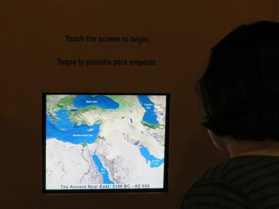 Oriental Institute Museum: Conteúdo interativo