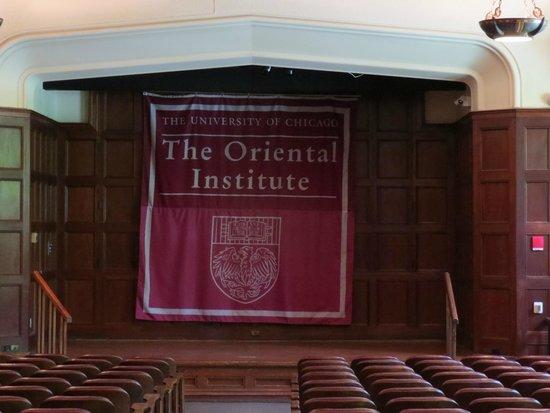 Oriental Institute Museum: Auditório do museu