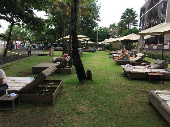 Anantara Seminyak Bali Resort: Sun beds