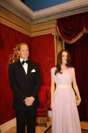 Madame Tussauds New York : William and Kate