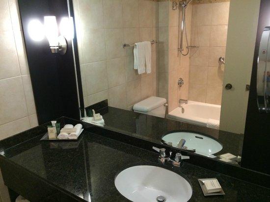 Hilton Quebec: Banheiro