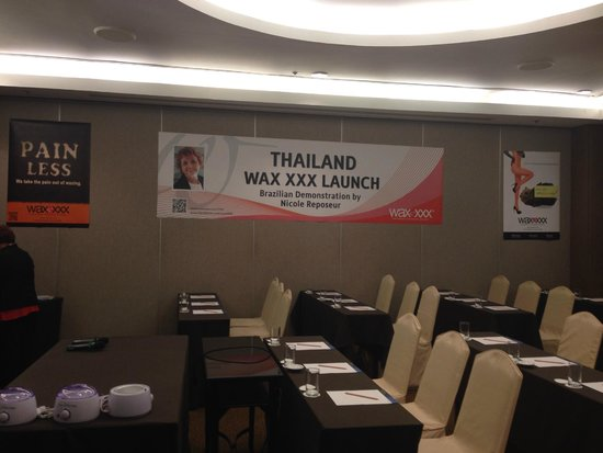 Novotel Bangkok on Siam Square: They were a great help to set up the training room