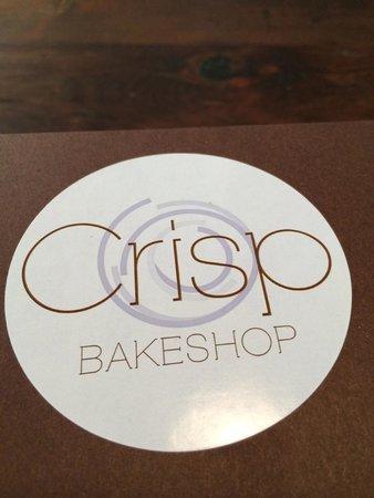 Crisp Bake Shop : Bakery box