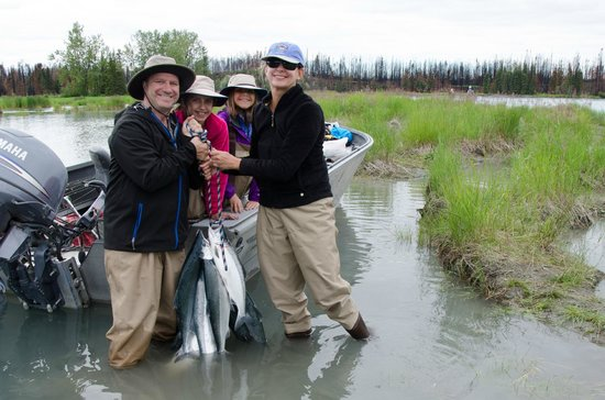 Alaska River Adventures - Day Tours: Great Family Fishing Trip
