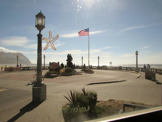 The Boardwalk Restaurant and Lounge: View from our table
