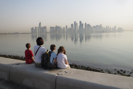 The Corniche : Early Morning Bliss