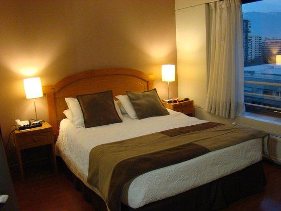 Apart Hotel Cambiaso: Cama