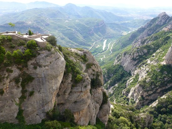 Barcelona Turisme - Afternoon in Montserrat Tour: View from the Monestary