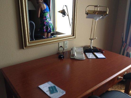 Hilton Garden Inn Cincinnati/Sharonville: Desk/Office Area