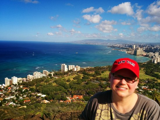 Diamond Head State Monument: The view from the top