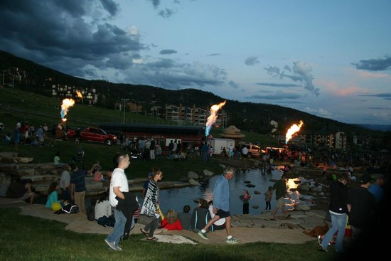 Kutuk Condominiums at Steamboat Springs : Balloon festival mid-July - 2 blocks from condo