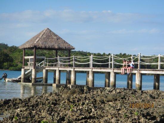 Eratap Beach Resort: Jetty