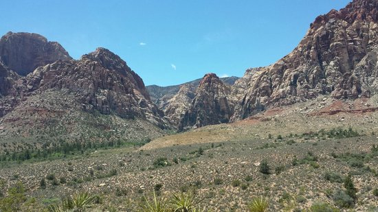 Red Rock Canyon National Conservation Area: one of the many view in the canyon