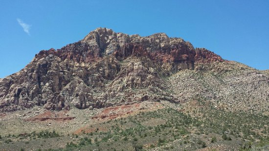 Red Rock Canyon National Conservation Area: another view from within the canyon
