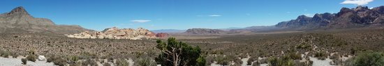 Red Rock Canyon National Conservation Area: panoramic view