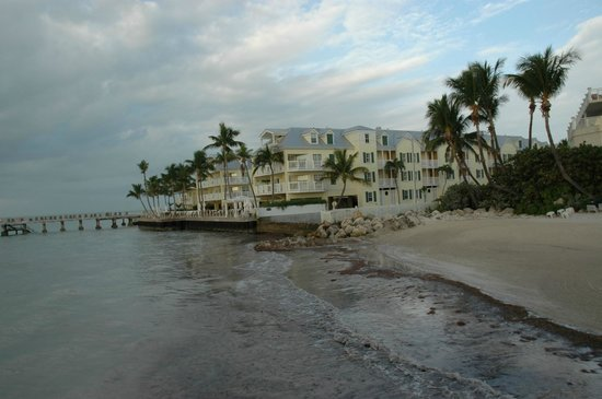 The Reach Key West, A Waldorf Astoria Resort: View from the water