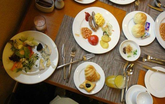 Melia Hanoi : メリアホテルの朝食