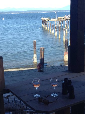 Boatyard Inn: Great view