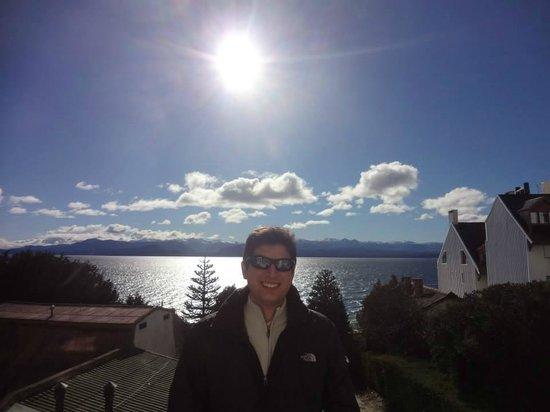 Hotel Tirol Bariloche: Na varanda do quarto