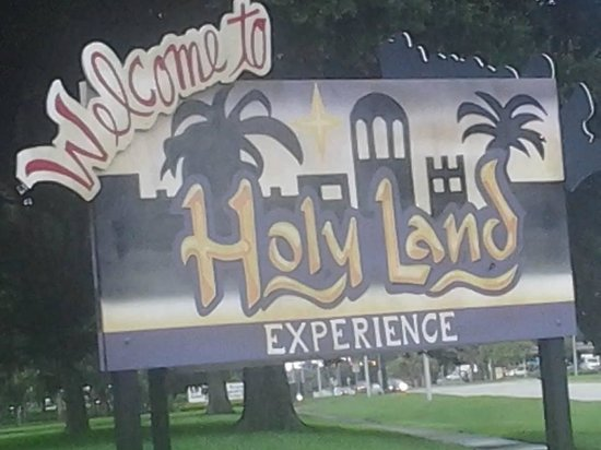 Holy Land Experience: Entrance