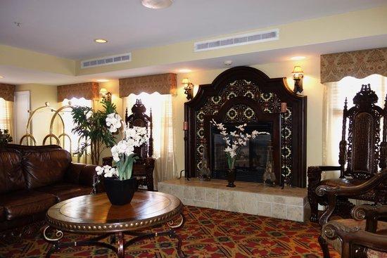 Hilton St. Augustine Historic Bayfront: Lounge area