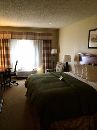Country Inn & Suites By Carlson, Charlotte - I-85 Airport: comfy bed