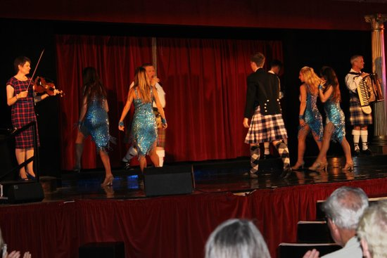 Rhubarb - The Restaurant at Prestonfield : Dança escocesa