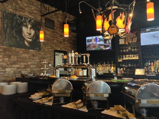 Zander's Fire Grill and Brew Lounge: Buffet