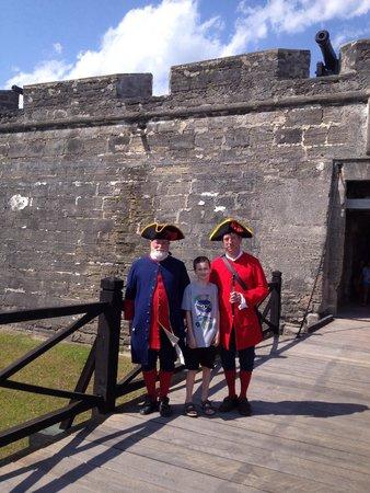 Castillo de San Marcos: Even our 10 year old enjoyed!!