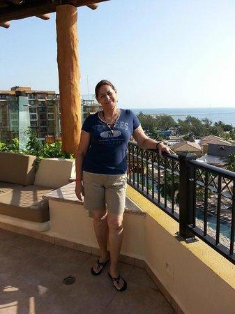 Villa del Palmar Cancun Beach Resort & Spa: visitando una habitacion.