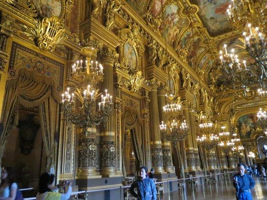 Opéra Garnier : Interior view-2