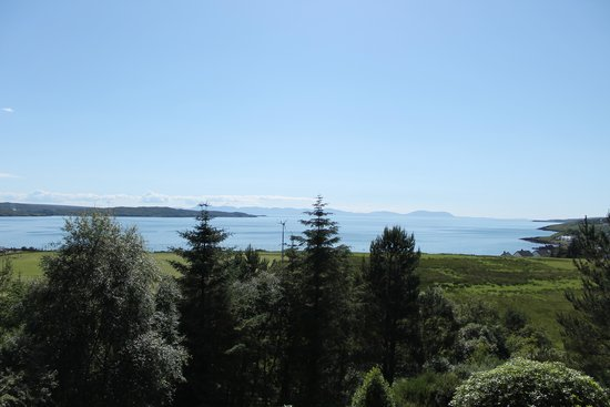 Gairloch View Guest House : Gorgeous view from the deck