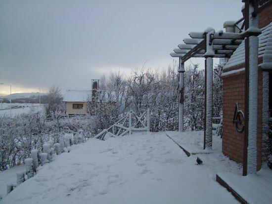 Altos de la Costanera - Aparts: Nieve en el apart