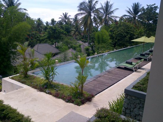 Kebun Villas & Resort : View from our room