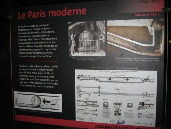 Musee des Egouts de Paris: Sewers of Paris