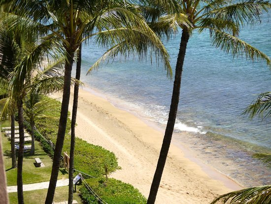 Aston Mahana at Kaanapali: View from room