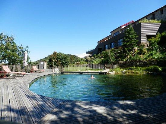 Riberach Hotel Cave-Restaurant: piscine bio