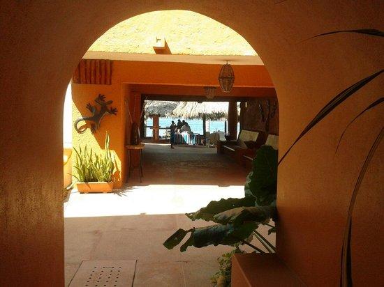 Villa Mexicana Hotel: Vista al.mar
